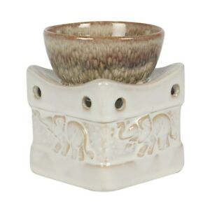 ELEPHANT OIL BURNER CANDLE WAX SCENT HOME AROMATHERAPY WAX MELT ESSENTIAL OILS