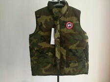 CANADA GOOSE MENS FREESTYLE DOWN VEST GREEN SIZE L LARGR ARTIC PROGRAM