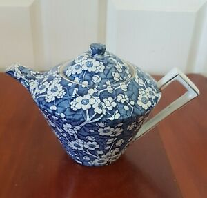 Antique STOKE ON TRENT  All over Floral,  Looks Good  Used  condition