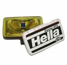 Hella Comet 450 Spot Driving Yellow Light With Cover & H3 Bulb 55W 12V