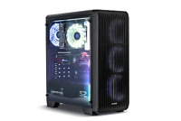 Zalman S2 Acrylic ATX Mid Tower PC Case with 3 X 120mm Fans Black Gaming Chassis