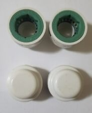 """1/2"""" PVC Lock End Cap An Easy To Use Fitting That Will Save You Time 6PK"""