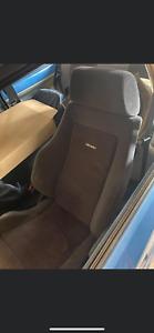 Escort rs turbo recaro seats 88 spec