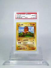 PSA 10 GEM MINT Diglett Pokemon Japanese Squirtle Deck Set #2