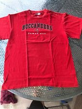 TAMPA BAY BUCCANEERS RED NFL TEAM APPAREL LARGE T SHIRT