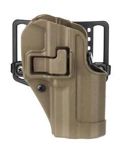 Blackhawk! CQC Serpa Pistolen Holster H&K P8 USP Coyote Right