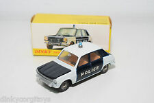 DINKY TOYS 1450 SIMCA 1100 POLICE VERY NEAR MINT BOXED RARE SELTEN