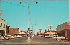 Main Street in Downtown Yuma AZ Postcard