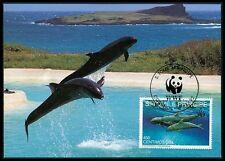 S.TOME MK 1992 WALE KILLER WHALE SCHWERTWAL ORKA CARTE MAXIMUM CARD MC CM bi01
