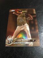 2018 Topps Chrome German Marquez