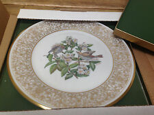 Birds Edward M Boehm Lenox Collector Plate 1970 Wood Thrush in Box Usa 14701 Fe