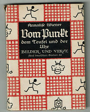 Buch - Annalise Wiener - Vom Pnukt dem Teufel und der Uhr - Bilder Verse Märchen