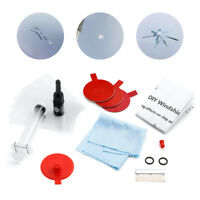 Set of Windscreen Windshield Repair Tool DIY Car Kit Wind Glass For Chip &Crack@