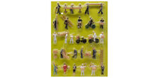 Noch At Work x 24 figures and Accessories 16047 HO Scale