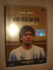 DVD N° 1 UNA VITA DA GOL COLLANA MARADONA GAZZETTA