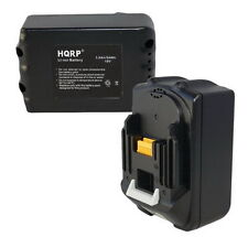 2x HQRP Battery for Makita BL1830, BL1835, LXT400, BL1815, 194205-3, 194204-5