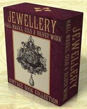 JEWELLERY HALL MARKS Gold & Silver Work 94 Vintage Books Catalogs on DVD Jewelry