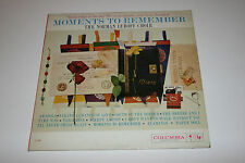 Norman Luboff Choir Moments To Remember LP Columbia VG/VG