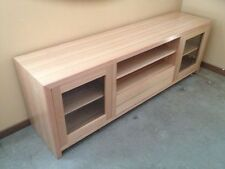 028 Tasmania Oak Lowline TV Entertainment Unit Living Room Furniture