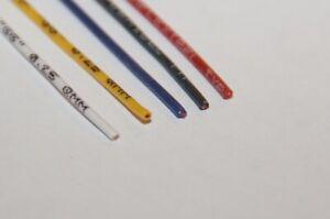 Silikonkabel hochflexibel, extra geschmeidig, 0,25², 0,5², 0,75² & 1mm² Silicon
