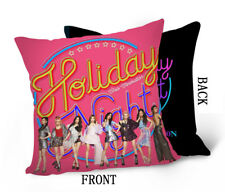 Kpop SNSD Girls Generation Throw Hold Pillow Pillowcase Holiday Night DPW783