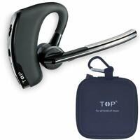 Wireless Earpiece Bluetooth Handsfree Noise Cancelling Stereo Ergonomic Headset