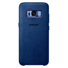 Samsung Galaxy S8 Alcantara Cover Blue