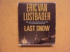 Last Snow by Eric Van Lustbader Audio Book on CD 2010 Unabridged