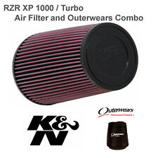 Polaris RZR XP Turbo / RZR4 K&N Performance Clamp Air Filter and Outerwears