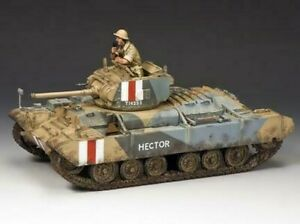 EA078 - Valentine MK III Tank - Eighth Army - King and Country