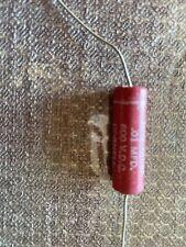 5 Tiny Chief .01 Uf Mfd 600V Dc Capacitors , Dubilier, Usa