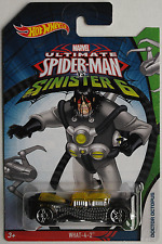 """Hot Wheels-what - 4-2 """"Ultimate Spider-Man vs. Sinister 6/Doctor Octopus"""" OVP"""
