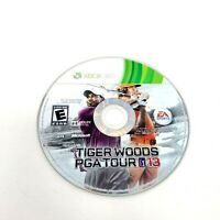 Tiger Woods PGA Tour 13 (Microsoft Xbox 360, 2012) Disc Only Tested.