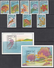 ANTIGUA:1990 Columbus set 3 + MS(2) SG 1360-7+MS1368