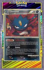 🌈Dimoret Reverse - HS04:Indomptable - 25/90 - Carte Pokemon Neuve Française