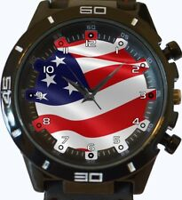USA United States America Flag New Trendy Sports Series Unisex Gift Wrist Watch