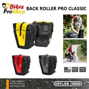 ORTLIEB Back Roller PRO CLASSIC (Pair) - Bike Bicycle Panniers Bags GERMANY 2021