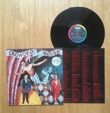 CROWDED HOUSE - CROWDED HOUSE Vinyl LP + Lyric Inner EST 2016 A1 / B1   best