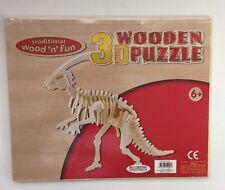 Legno 3D Puzzle dinosauro