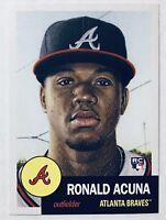 Ronald Acuna Jr Rookie 🔥 2018 Topps Living RC 🔥 Atlanta Braves