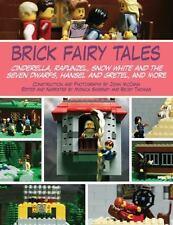 Lego~Brick Fairy Tales: Cinderella, Rapunzel, Snow White & Seven Dwarfs, Hansel