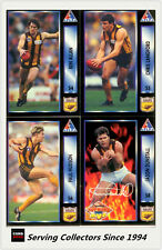 1994 Dynamic AFL Players Choice Trading Cards Base Team Set Hawthorn(9)