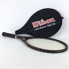Wilson Jack Kramer Staff 110 tennis racket PWS 4 3/8 (L3) 80% Graphite w/case