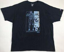 Champion Brand Lakewood BlueClaws 2017 Star Wars Night T-Shirt Xxl 2Xl Rare Mens