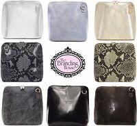 new ladies vera pelle italian leather cross body shoulder bag womens bags