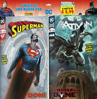 Dc Comics Pack Batman N°1 + Superman N°1 - Panini Comics - Italian Novelty'