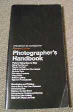 Time Life Photographer's 1981 Revised Handbook Paperback