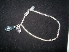 NEXT 925 STERLING SILVER BRACELET WITH BEAD CHARMS BNWOT