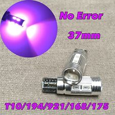 PARKING LIGHT T10 LED PURPLE No Canbus Error w5w 168 194 10 SMD for Toyota L