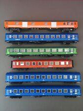 Ls Models MW 1903 HO - Set de 6 voitures Rail tour Camino AZUL SNCF SNCB